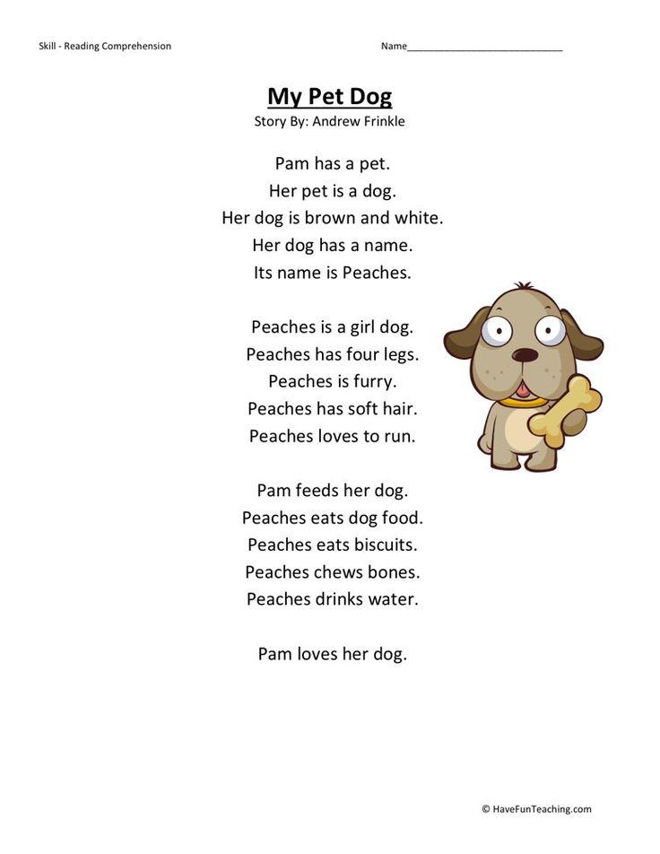 Long essay on my pet dog