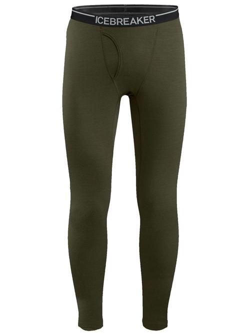 Icebreaker Men's Merino Oasis Leggings w fly cargo 100482g80