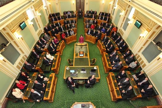 The 54th Parliament - Official portrait