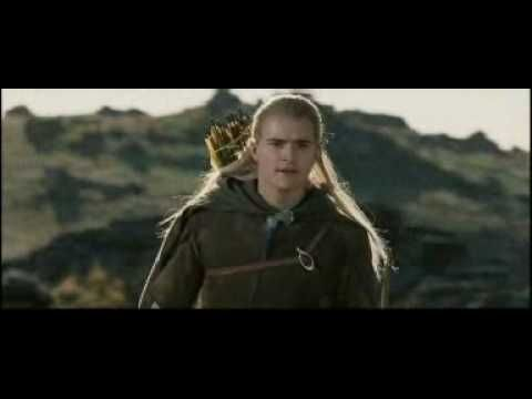 "Orlando Bloom Recreates ""They're Taking The Hobbits To Isengard"" Viral Video"