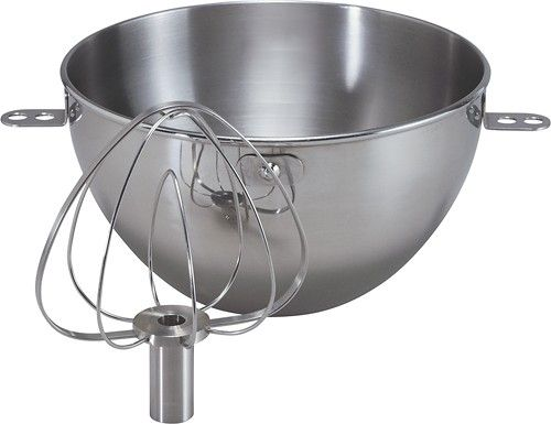 Pro 600 KitchenAid - 3-Quart Bowl - Stainless-Steel - Larger Front