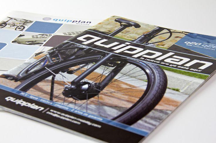 Elaboración de varios catálogos de productos para Quipplan Mobility - Calle Mayor Comunicación y Publicidad