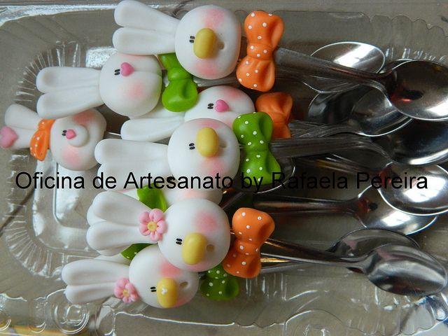 Colheres para ovos(brigadeiro de colher) by Rafa Pereira, via Flickr