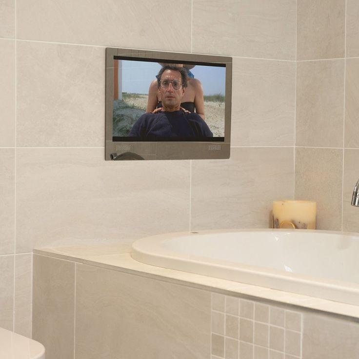 Best 25 Bathroom Tvs Ideas On Pinterest Tvs For Bathrooms Pink Small Bathrooms And Bathroom