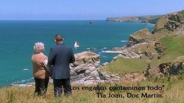El personaje de la Tía Joan, que Stephanie Cole interpretó durante cuatro de las seis temporadas de la serie inglesa Doc Martin, señala con esta frase la amplitud contaminante que tiene un solo eng...