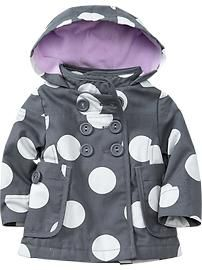 Hooded Canvas Jackets for Baby