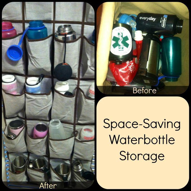 Water Bottle Storage: 17 Best Ideas About Water Bottle Storage On Pinterest