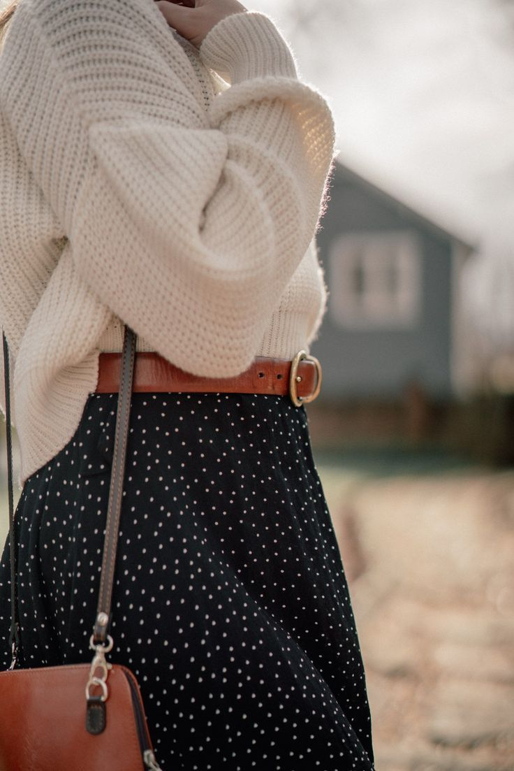 Winter in Polka Dots