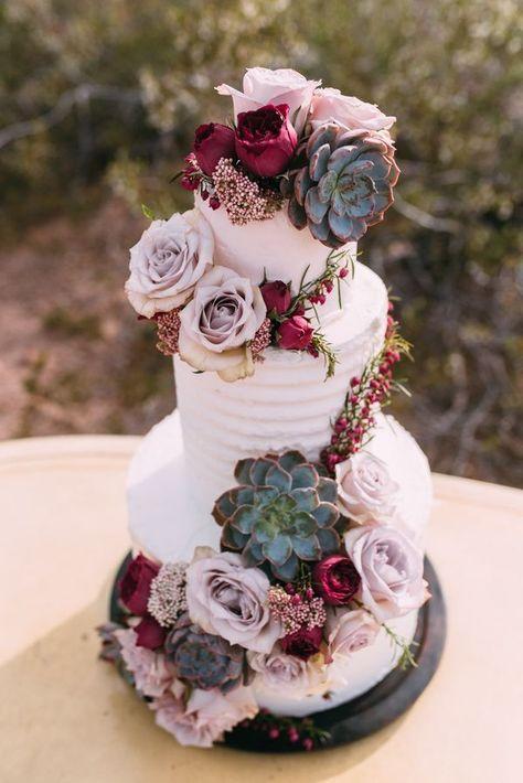 Kupfer & Rose Desert Romance Böhmische Hochzeitstorte. Allyssa Ryan Fotografie. En …   – My Wedding
