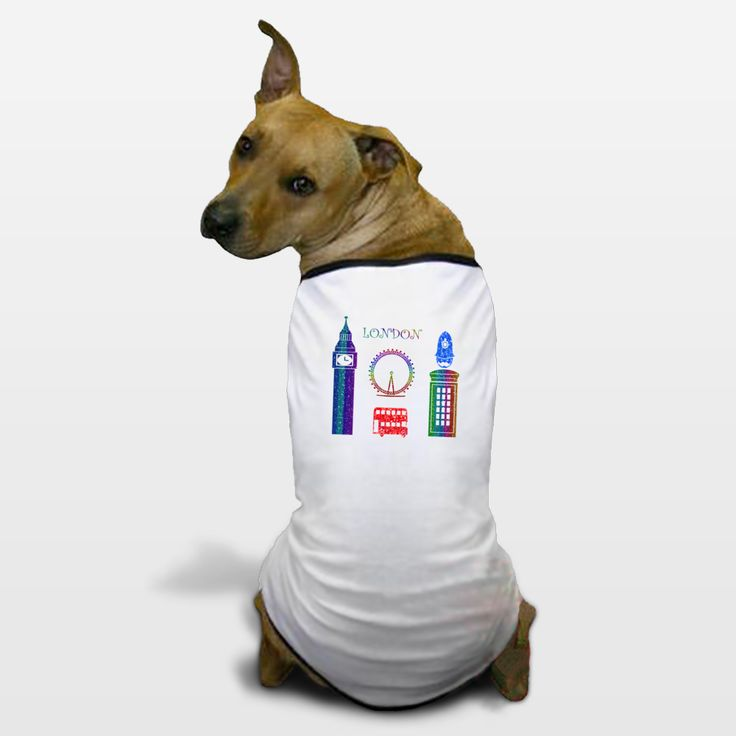 Shop for unique nursery art like the London Dog T-Shirts by haroulita on BoomBoomPrints today!  Customize colors, style and design to make the artwork in your baby's room their own!