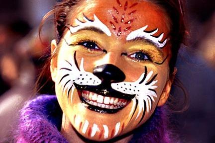 Trucco da tigre