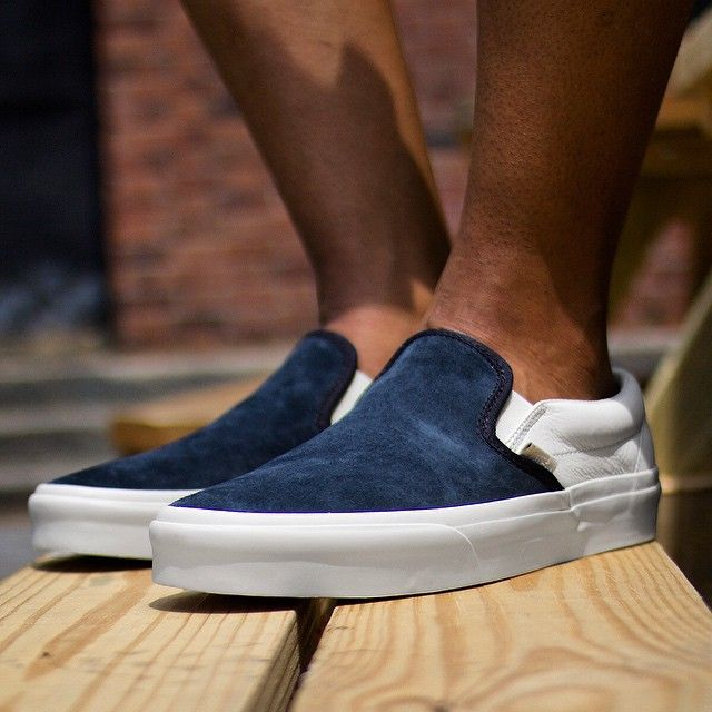 Vans California Classic Slip On Scotchgard