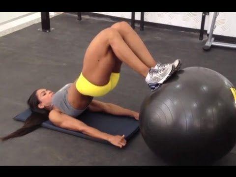 Exercícios para a parte posterior da coxa e para o glúteo