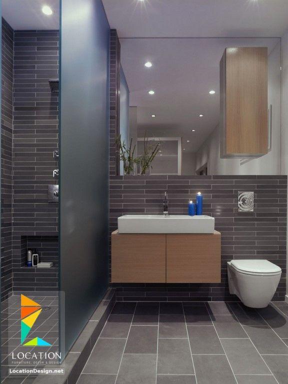 ديكورات حمامات صغيرة المساحة 50 تصميم حمامات مودرن بأفكار رائعة جدا Bathroom Design Small Modern Bathroom Design Small Modern Small Bathrooms