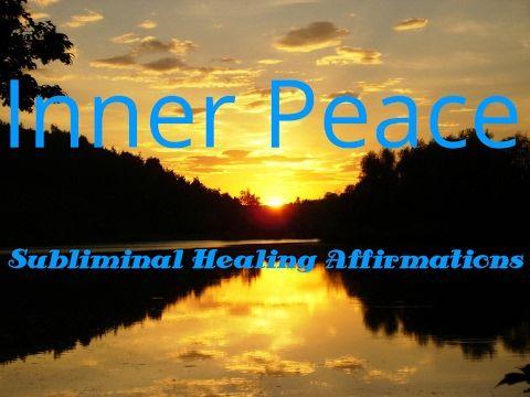 Inner PEACE   Healing Affirmations    Subliminal   Deep Sleep   Isochronic Tones - CALM Space© Healing=>