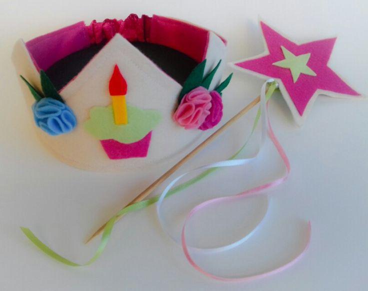 Coroa fetro aniversário