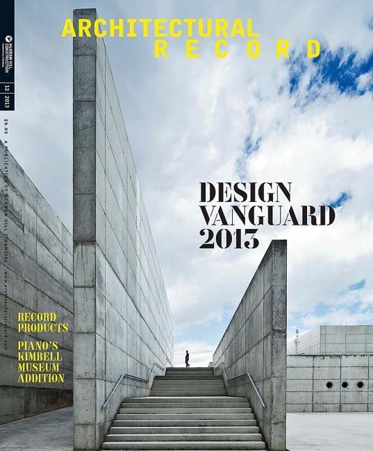 Architectural Record Us Magazine Design Cover Editorial Design