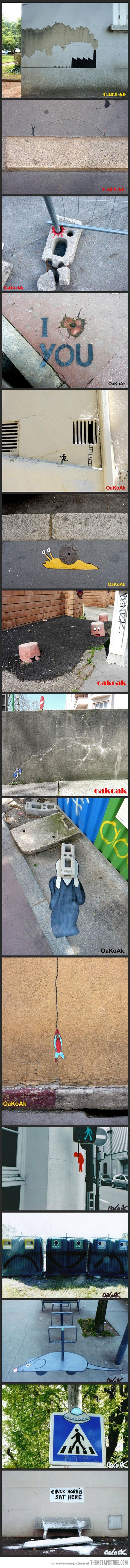 Brilliant OakOak    slippers Interventions by Art   Street ultra Urban Intervention  Art fitflop lounge Urban and