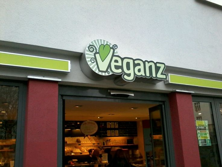 Vegan store with every vegan product you might need! There's also a small bakery inside... berlin #vegan www.veganz.de