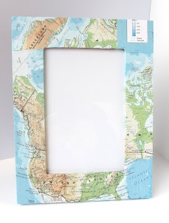 map frame make one for all the places youve been instead of buying