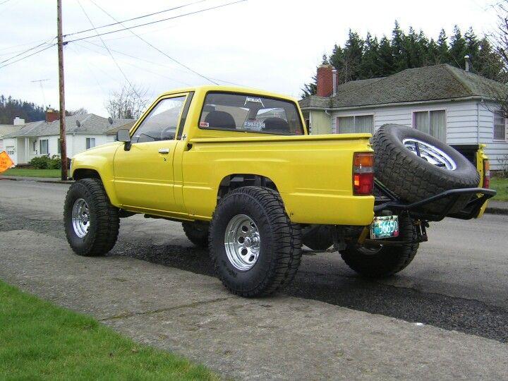 Mini Trophy Truck >> 84 toyota 2wd prerunner | Mini trucks, Toyota trucks, Hot cars