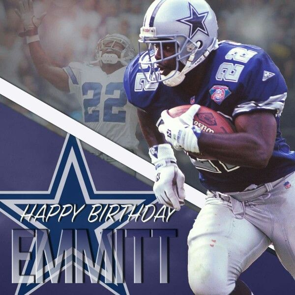 My Emmitt Smith. ...he is the man!!!