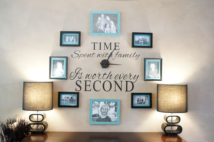 DIY Wall Clock with Dollar Store Picture Frames!