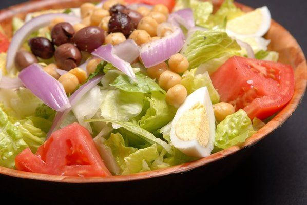 Italian Salad from Anthony's Coal Fired Pizza..best salad and BEST dressing