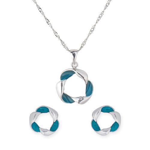 Set di gioielli in platino I.