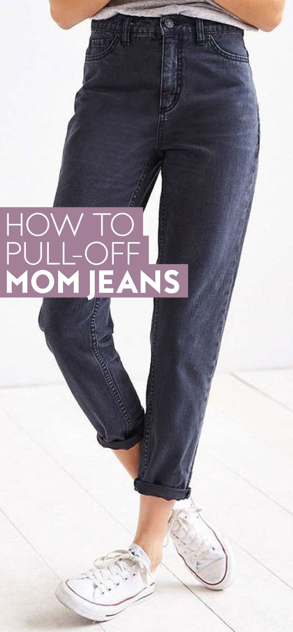 Swap out your traditional skinny jeans for these cool girl mom jeans.  / style tips