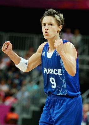 Celine Dumerc. Deadly from 3 point range.