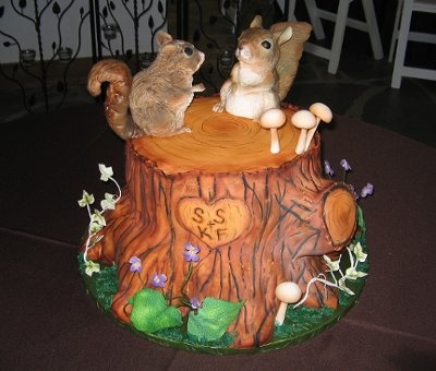 1000 Ideas About Squirrel Cake On Pinterest Cakes Cake