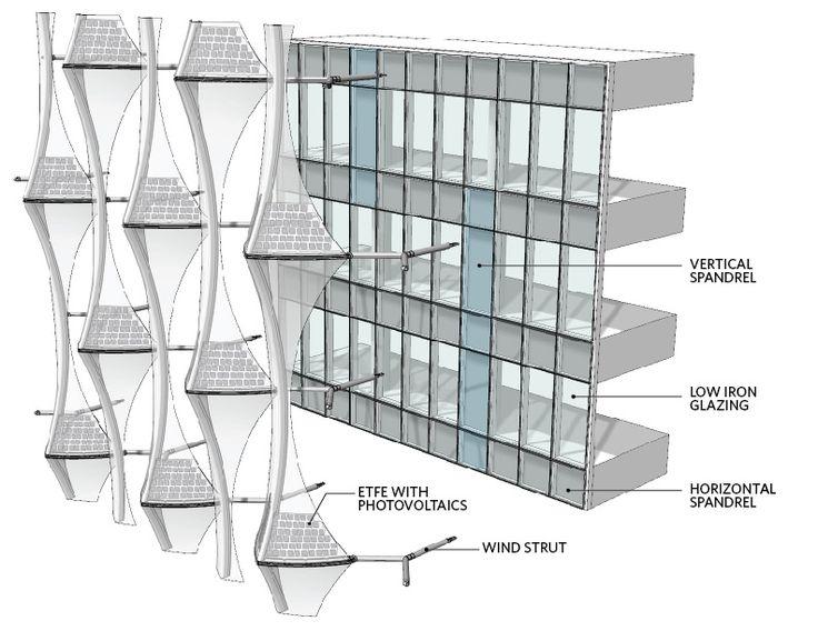 Multi Curtain Wall Buscar Con Google Facade Isometric