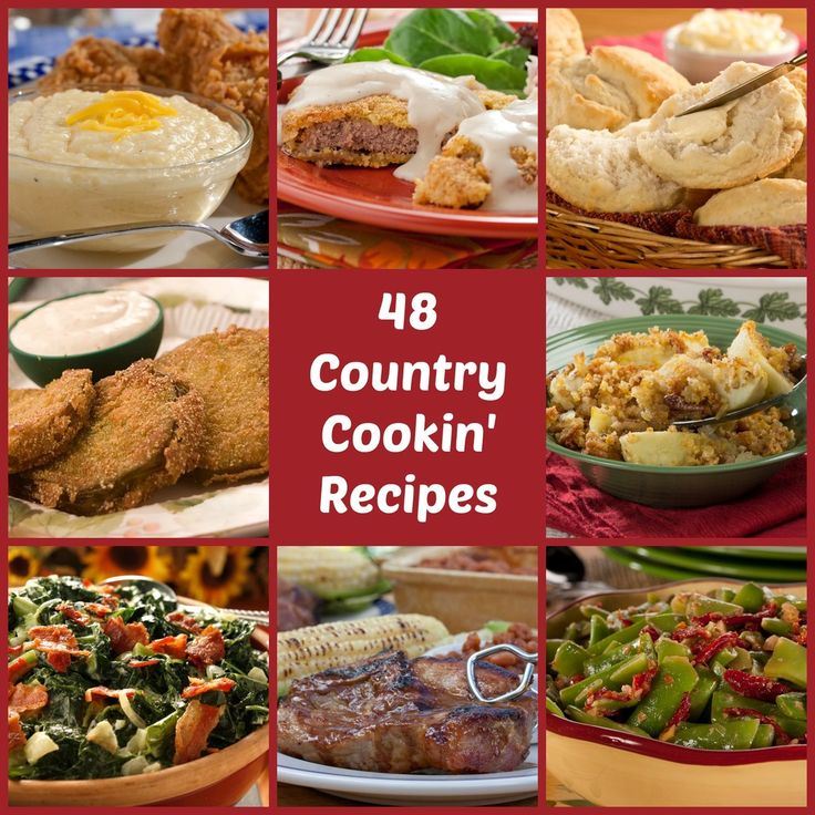 For good old-fashioned Southern comfort, it doesn't get much better than hearty portions of homestyle favorites. We're servin' up plenty of country cooking recipes in our collection of 48 best-loved Southern Comfort Recipes.