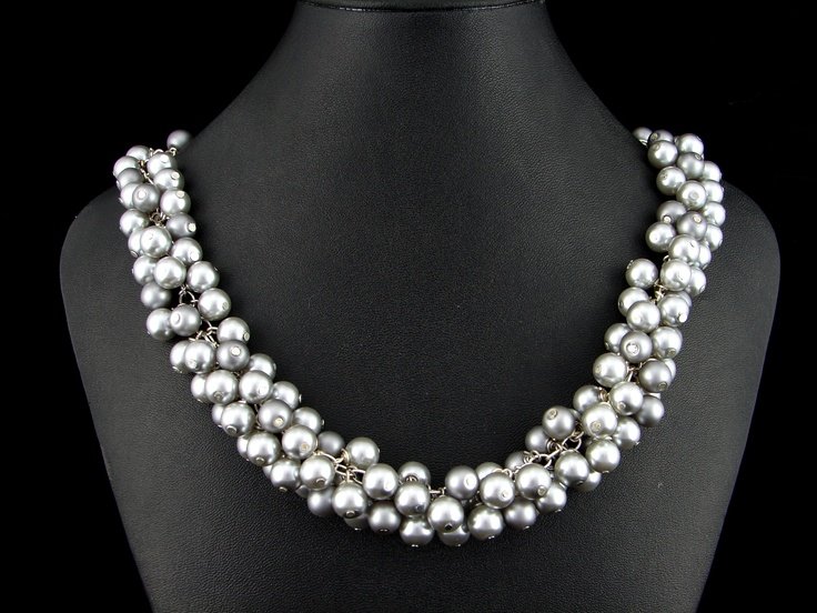 Glass pearl necklace designed by Jennie (my wife).  Selling it now for $79.00