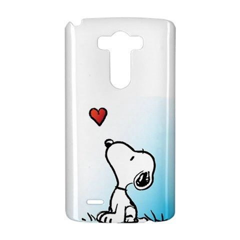 Snoopy Love Heart LG G3 INTERNATIONAL Case Wrap Around