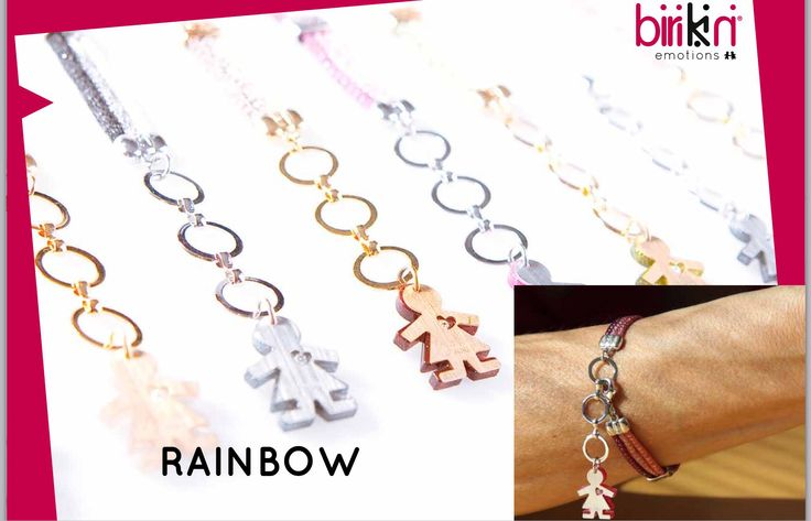 RAINBOW A/W 2014 2015 Collection! Bracciali, collane e orecchini by birikini ! www.ibirikini.com - International office: international@ibirikini.com