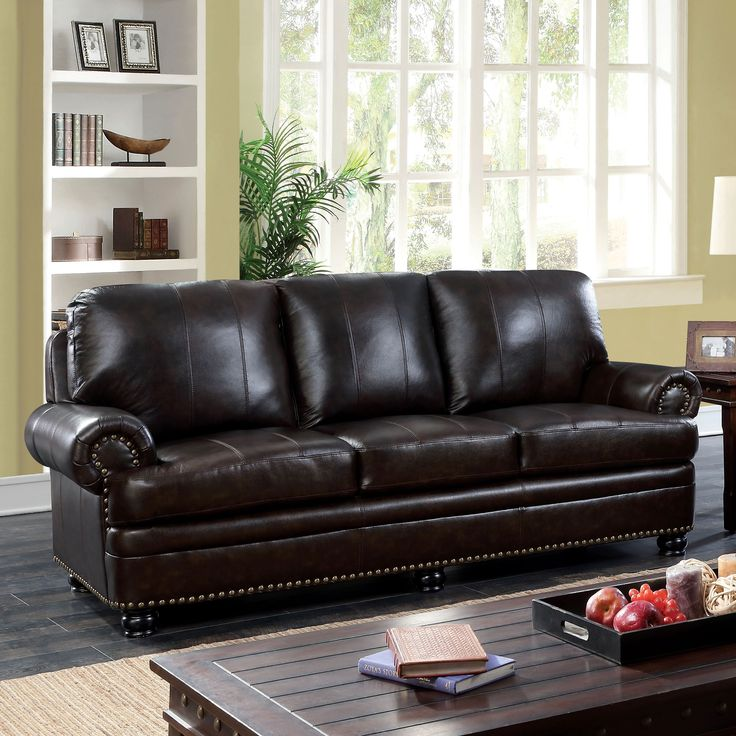 Brown Leather Sofa Modern Decorating Ideas: 25+ Best Ideas About Dark Leather Couches On Pinterest