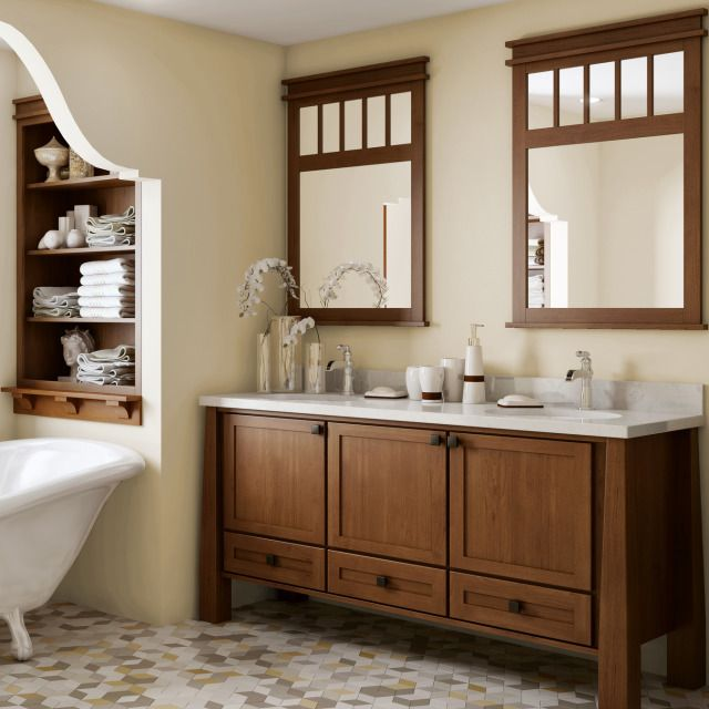 Bath Vanity From: Canyon Creek Cabinet Co. | For Residential Pros