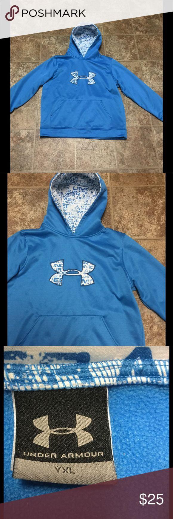 Under Armour Sweatshirt Hoodie Size YLG NWOT Under Armour Blue Sweatshirt Hoodie Size YLG NWOT Under Armour Shirts & Tops Sweatshirts & Hoodies