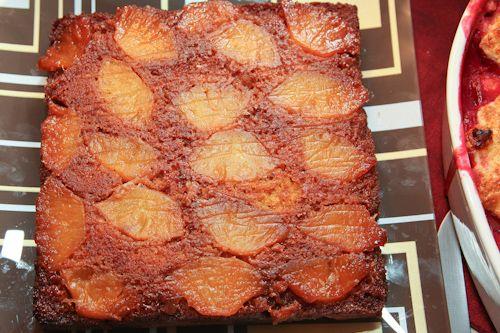 Caramelized Pineapple Upside Down Cake   Recipe