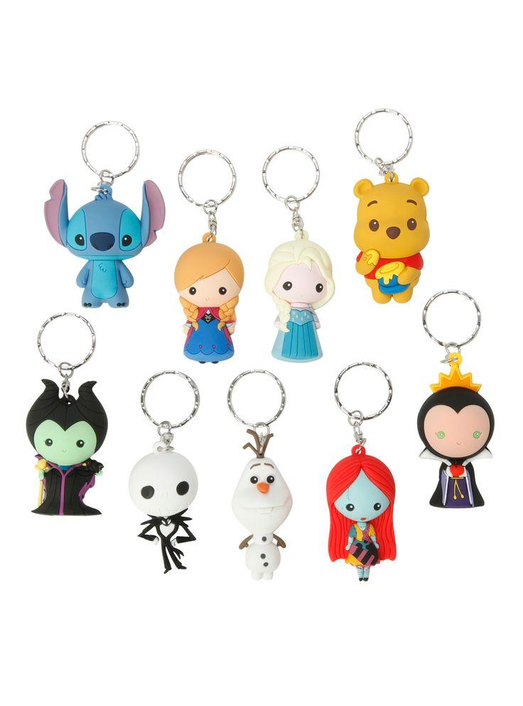 Disney Series 2 Figure Key Chain Blind Bag | Hot Topic