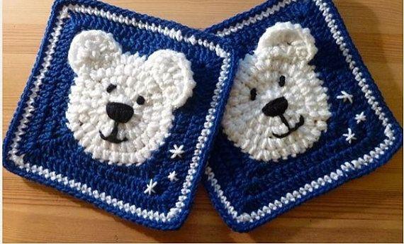 Polar Bear Coasters Christmas Coasters Holiday by TheThriftyWolf