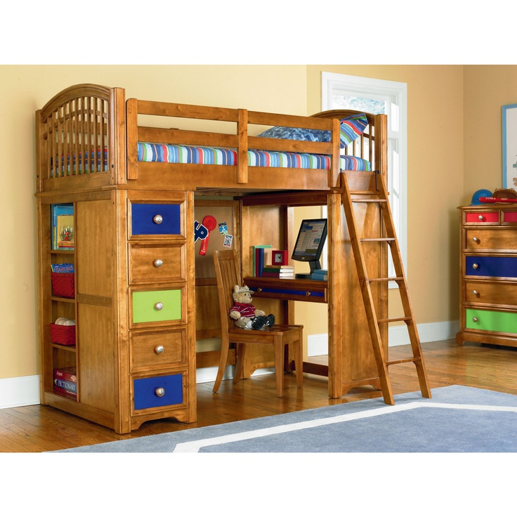 1000+ images about Loft Beds on Pinterest Ladder, Ikea kura and Pottery barn bed