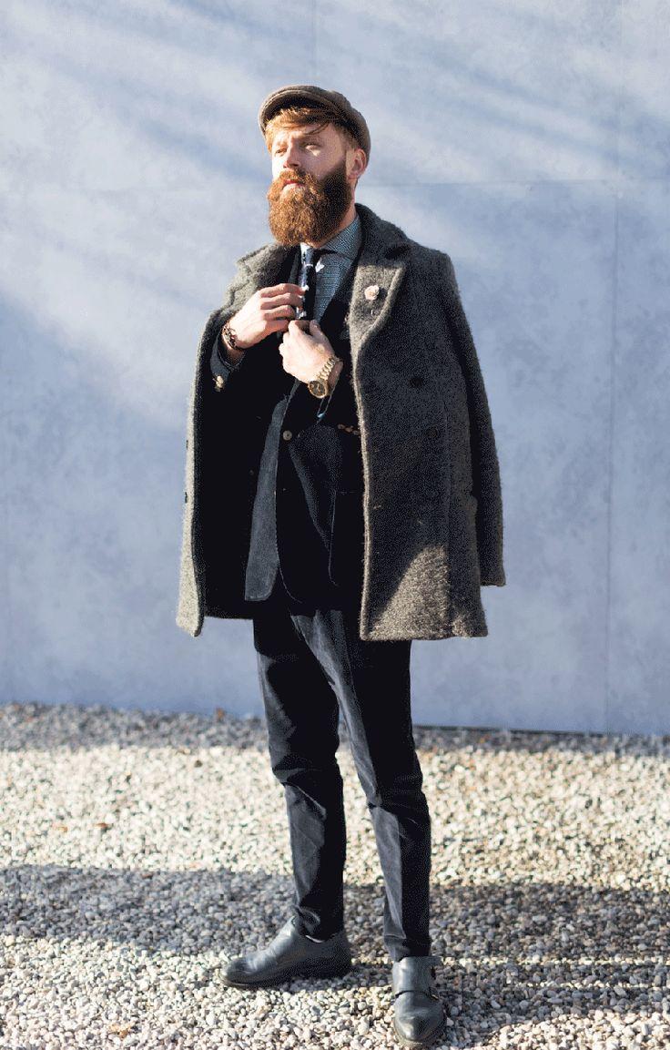 Laviniu Flonta for Vogue Italia Pitti Uomo 89 » Blog Archive » Des gens en photo