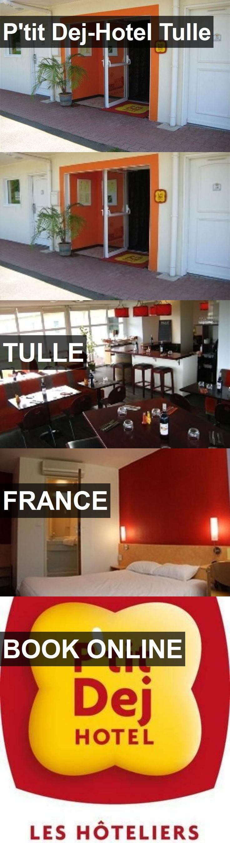 P'tit Dej-Hotel Tulle in Tulle, France. For more information, photos, reviews and best prices please follow the link. #France #Tulle #travel #vacation #hotel
