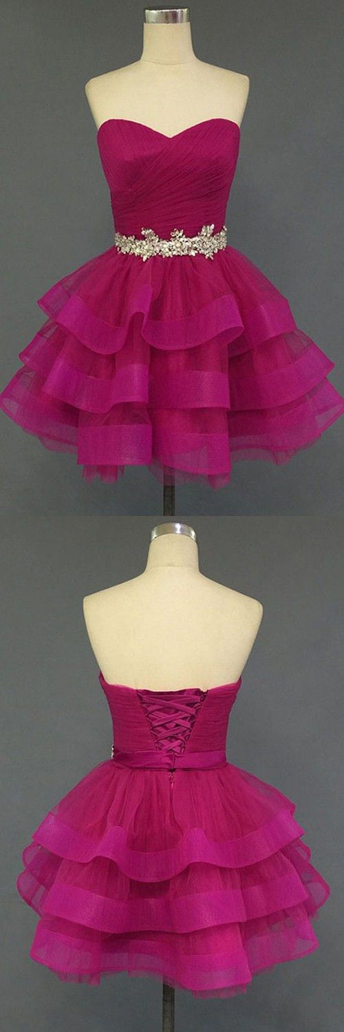 sweetheart homecoming dresses,lace up homecoming dresses,rose homecoming dresses,cute homecoming dresses