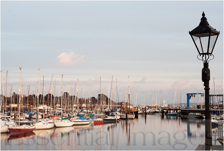 One of my favourite places is Lymington Quay - hustle and bustle - nearly always something going on! :) www.essentialimages.co.uk