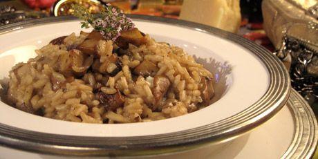 Creamy Gorgonzola and Portabella Mushroom Risotto