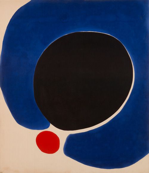 primary colors art by Jules Olitski - Cleopatra Flesh (1962)